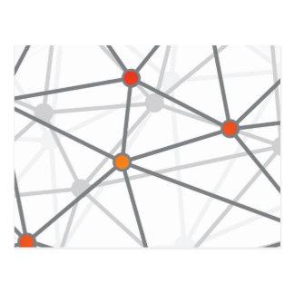 Modelo gris del Web y de los nodos Postal