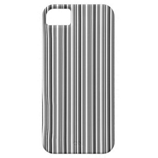 MODELO GRIS GRIS BLANCO NEGRO MODERNO B DE 222 RAY iPhone 5 Case-Mate CÁRCASAS