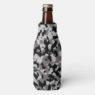 Modelo gris militar del camuflaje enfriador de botellas