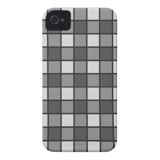 Modelo gris tejado iPhone 4 Case-Mate fundas