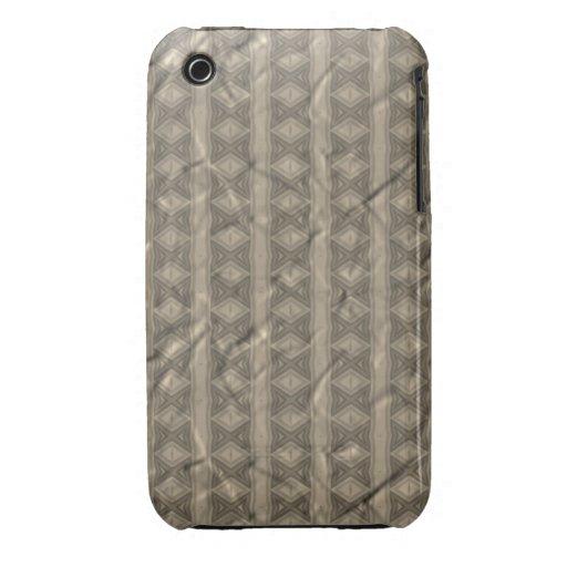 Modelo gris vertical iPhone 3 Case-Mate protectores