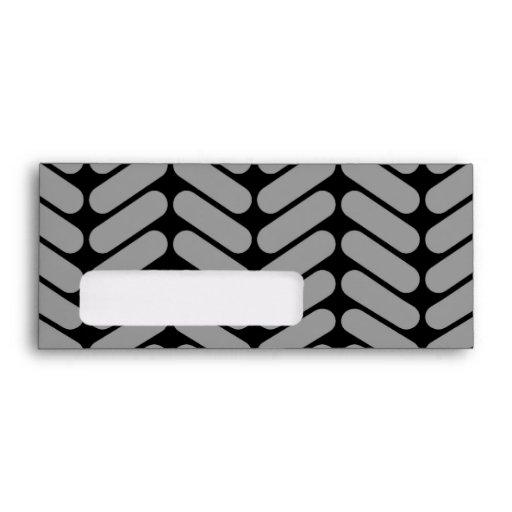 Modelo gris y negro de Chevron