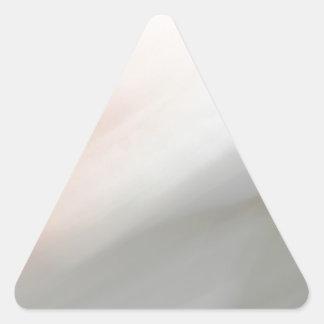 Modelo gris y rosado de la falta de definición de calcomanías triangulos personalizadas