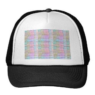 Modelo hecho a mano del diseño de la tela - fondo gorra