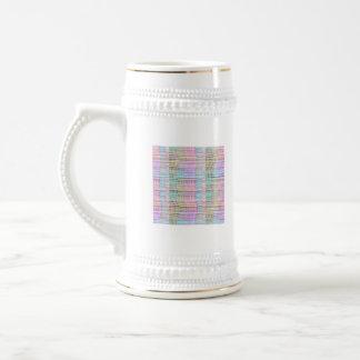 Modelo hecho a mano del diseño de la tela - fondo jarra de cerveza