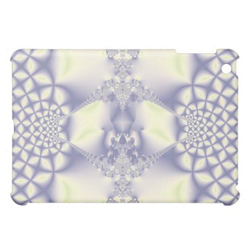 Modelo hermoso del fractal en el caso del iPad