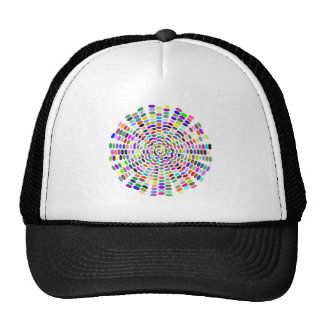 Modelo hexágono pattern hexagons gorra