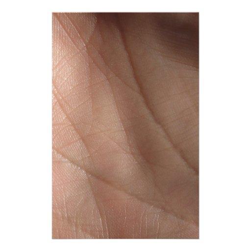 Modelo humano del facsímil de la piel papelería de diseño