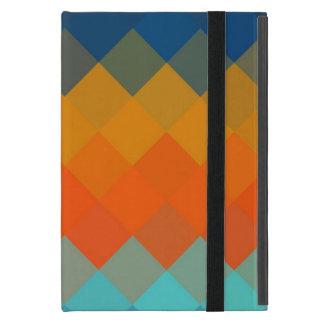 Modelo inconsútil 3 de Chevron de los colores iPad Mini Cárcasas