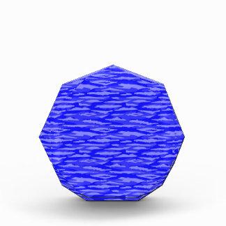 Modelo inconsútil abstracto azul