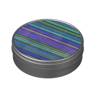 Modelo inconsútil coloreado 2 de las rayas que latas de caramelos