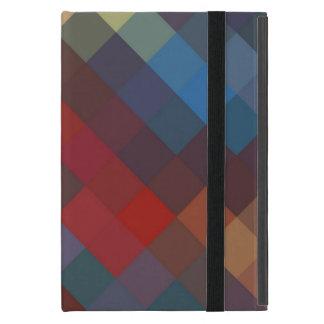 Modelo inconsútil colorido 2 de Chevron iPad Mini Carcasa