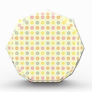 Modelo inconsútil con los círculos y los puntos