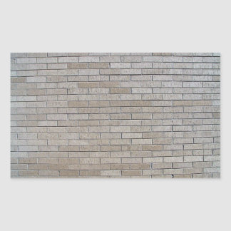 Modelo inconsútil de la pared de ladrillo gris rectangular pegatinas