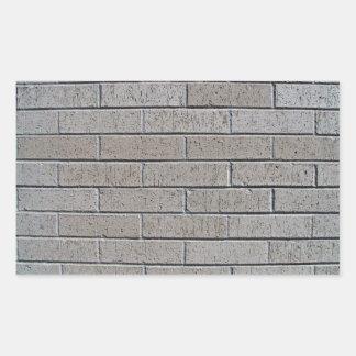 Modelo inconsútil de la pared de ladrillo gris rectangular altavoz