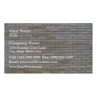 Modelo inconsútil de la pared de ladrillo gris tarjeta personal