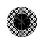Modelo inconsútil de las ruedas de engranaje reloj