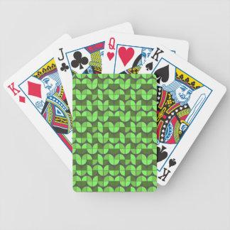 Modelo inconsútil elegante baraja de cartas