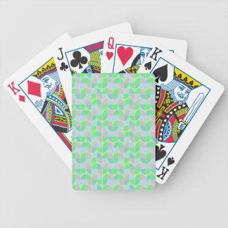 Modelo inconsútil elegante cartas de juego