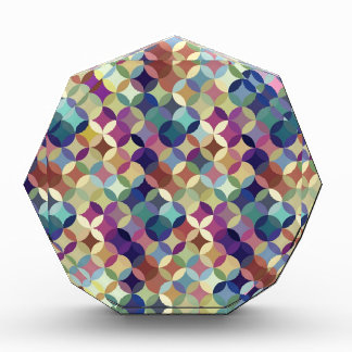 Modelo inconsútil geométrico colorido