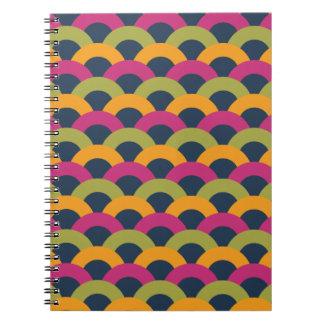 Modelo inconsútil sofisticado spiral notebooks