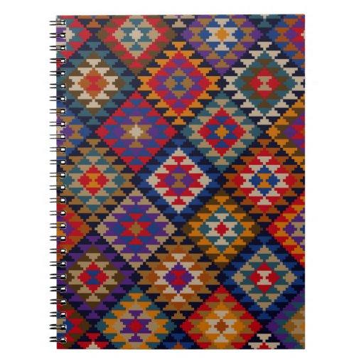 Modelo indio coloreado ricos libros de apuntes