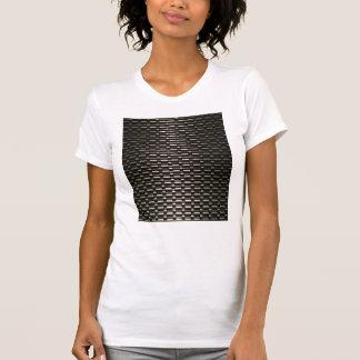 Modelo industrial de la malla de acero camiseta
