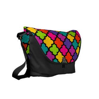 Modelo intrépido colorido de la teja de la bolsa d bolsa de mensajeria