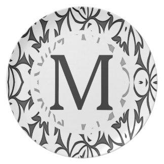 Modelo INTRÉPIDO gris oscuro y blanco Plato