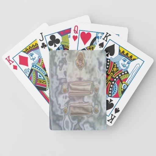 Modelo inusual baraja cartas de poker