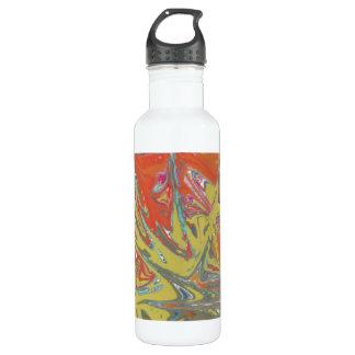 Modelo inusual extraño botella de agua de acero inoxidable