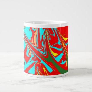 Modelo inusual feo taza grande
