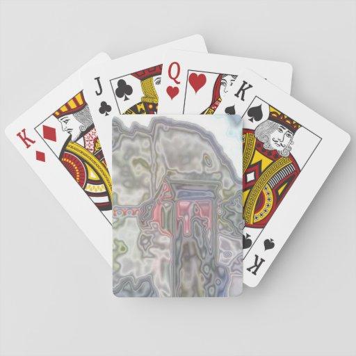Modelo inusual moderno baraja de póquer