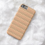modelo iphone6 funda de iPhone 6 barely there