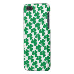 Modelo irlandés de los tréboles iPhone 5 carcasa