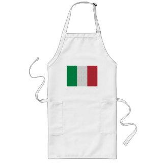 Modelo italiano del damasco de la bandera delantal largo