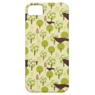 Modelo lamentable de los gorriones de los pájaros  iPhone 5 Case-Mate fundas