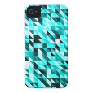 Modelo ligero abstracto retro del triángulo de los iPhone 4 Case-Mate carcasa