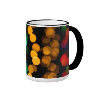 Modelo ligero que brilla intensamente taza de dos colores