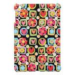 Modelo lindo de la flor y del corazón iPad mini protectores