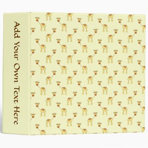 """Modelo lindo de la jirafa en amarillo carpeta 2"""""""