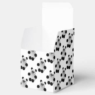 Modelo lindo de la panda caja para regalos