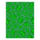 Modelo lindo de la tortuga verde