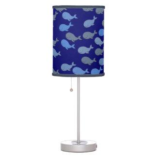 modelo lindo de las ballenas azules