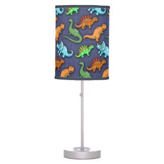 Modelo lindo de los dinosaurios lámpara de escritorio