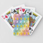 Modelo lindo de pascua de la cesta del huevo del c baraja cartas de poker