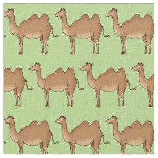 modelo lindo del camello telas