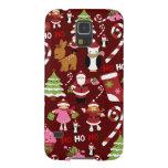 Modelo lindo del día de fiesta de Navidad de las Fundas De Galaxy S5