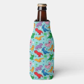 Modelo lindo del dinosaurio enfriador de botellas