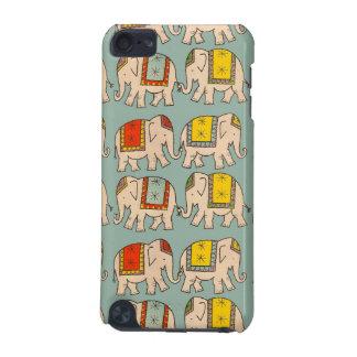 Modelo lindo del elefante de los elefantes del cir funda para iPod touch 5G